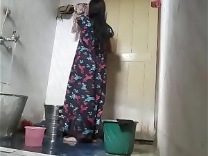 Cute Next Door Tamil Girl Filmed While In Shower