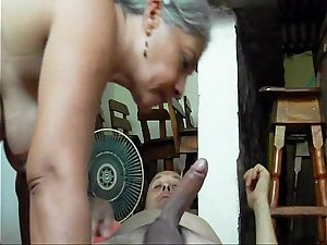 Mature Old Tamil Bhabhi Seduced By Her Young Grand Son