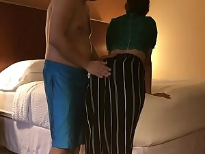 dirty gujarati Tamil Wife cheats in Husband in Hotel