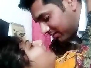 Desi couple kiss and fucked badly homemade