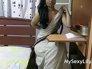 Indian Mother Giving Sex Lesson To Her Son How To Fuck A Girlfriend