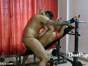Indian Sex In A Gym With Young Desi Couple