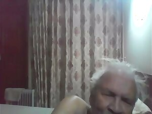 Desi old man fucking his 18 year old young maid